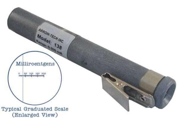 Model W138 direct-Reading dosimeter 0-200 mR with sapphire window
