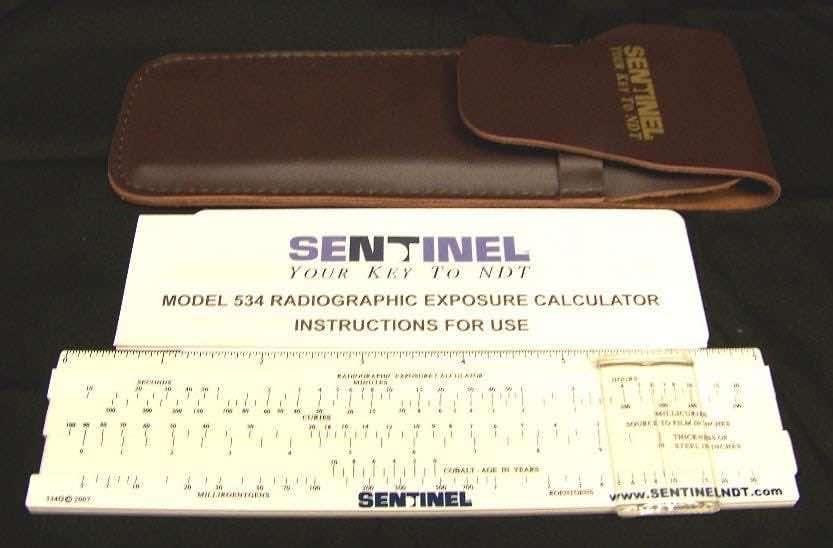 Tech Ops radiographic exposure calculator