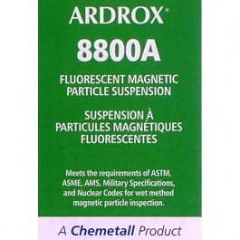 ARDROX 8800A Ultra-Glo fluorescent magnetic particle suspension