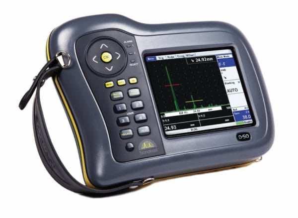 Sitescan D-50 ultrasonic flaw detector