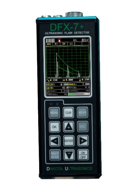 DFX-7   Ultrasonic flaw detector and thickness gauge