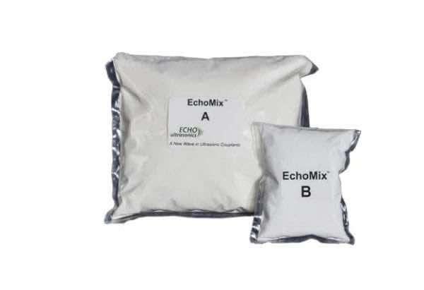 EchoMix 2 part couplant powder, 5 gallon packet