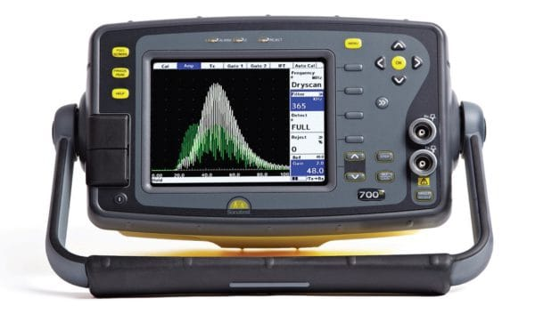 Masterscan 700 ultrasonic flaw detector