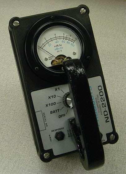 Low energy gamma survey meter