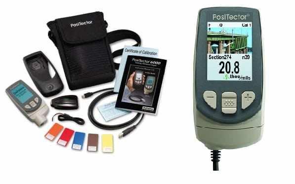 Ultrasonic coating thickness gauge