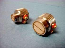 "Transducer, .25"" diameter, 2.25 MHz, dual element fingertip, general purpose straight beam"