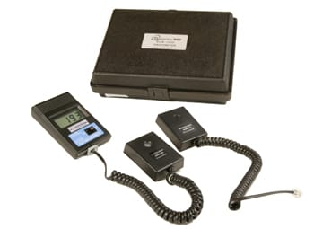 DLM-1000, certified digital light meter with white light (Lux) and UV sensors