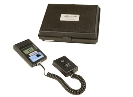 DLM-1000, certified digital light meter with UV sensor only