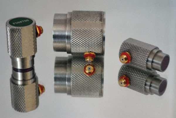 "Transducer, .25"" diameter, 2.25 MHz, ceramic faced fingertip contact, composite straight beam"